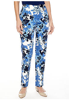 Skye's the Limit Petite La Isla Bonita Slim Fit Pants
