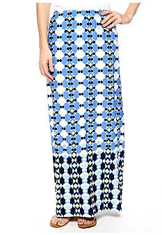 Skye's the Limit Petite La Isla Bonita Printed Maxi Skirt
