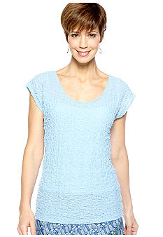Skye's the Limit Petite La Isla Bonita Keyhole Top with Tank