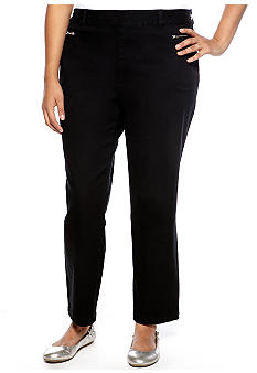 Skye's the Limit Plus Size Essential Zip Pocket Skinny Jean