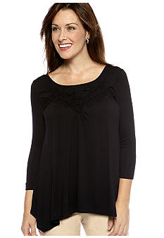 Skye's the Limit Essential Trellis Top
