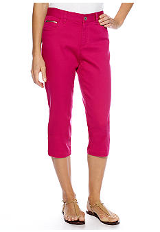 Skye's the Limit Pop Art Zip Pocket Capri