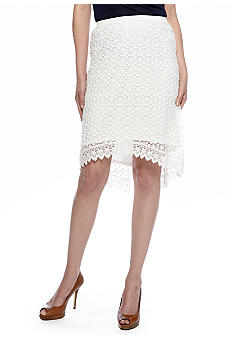 Skye's the Limit Pop Art Lace Skirt