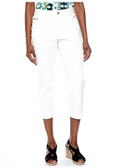 Skye's the Limit Essential Zip Pocket Capri