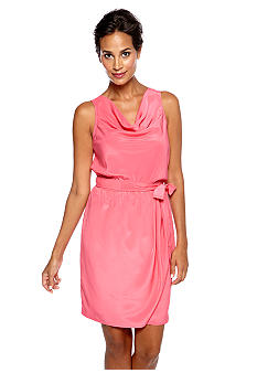 DKNY Jeans Belted Tank Dress