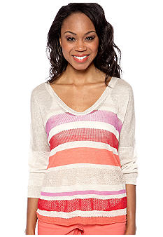 DKNY Jeans Boxy Stripe Sweater