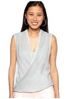 DKNY Jeans Sleeveless Twist Top