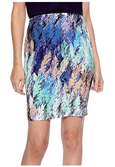 Harper and Gray Print Pencil Skirt