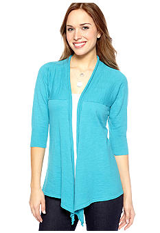 New Directions Weekend Slub Cardigan