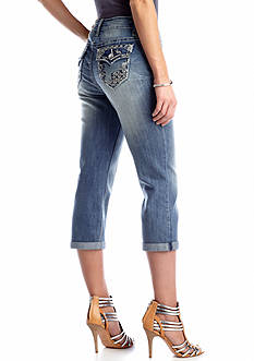 New Directions® Weekend Jewel Embellished Capri