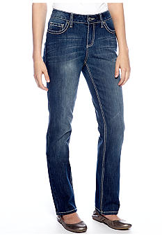 New Directions Weekend Jeans with Cross Back Pocket Detail