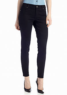 New Directions® Weekend Solid Twill Skinny Pant