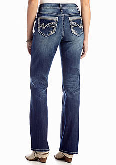 New Directions® Weekend Thick Stitch Boot Cut Jean