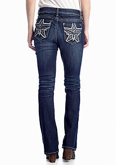 New Directions® Weekend Texas Star Boot Cut Jean