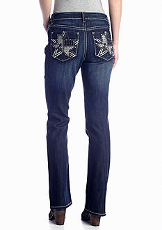 New Directions® Weekend State of Texas Bootcut Jean