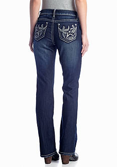 New Directions® Weekend Winged Star Boot Cut Jean