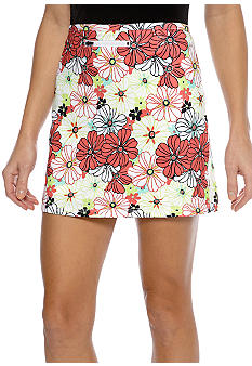 Pro Tour Performance Floral Skort