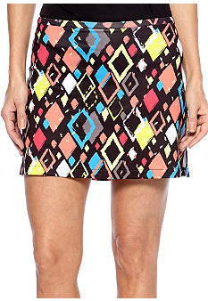 Pro Tour Performance Printed Skort