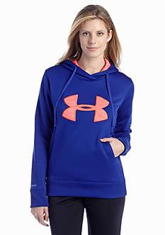 Under Armour® Big Logo Applique Hoodie