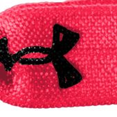 Workout Clothes for Women: Pink Shock Under Armour Women's I WILL Hair Ties