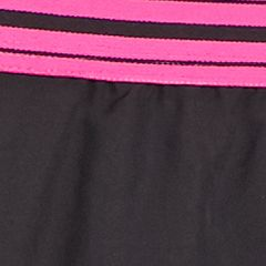 Discount Activewear for Women: Black/Rebel Pink Under Armour Women's Perfect Pace Shorts