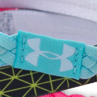 Sports Bras: Veneer/White Under Armour Women's Graphic Braided Headbands