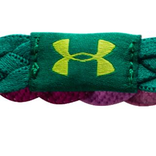 Sports Bras: Aubergine Multi Under Armour Women's Graphic Braided Headbands