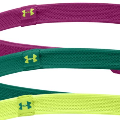 Women's Athletic Apparel: Aubergine/Xray Under Armour Women's Mesh Tie - 3 Pack