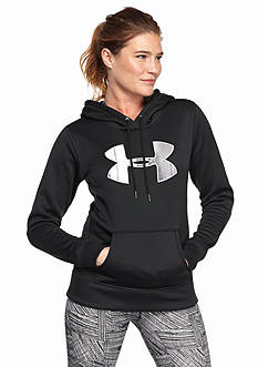 Under Armour Women's Storm Armour Fleece Printed Big Logo Hoodie