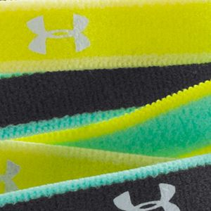 Workout Clothes for Women: Green/Yellow/White Under Armour Women's Mini Headbands