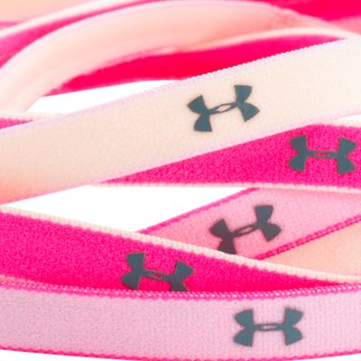 Workout Clothes for Women: Rebel Pink Under Armour Women's Mini Headbands