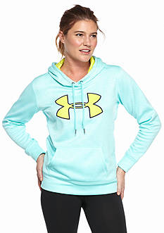 Under Armour Women's Armour Fleece Big Logo Twist Hoodie