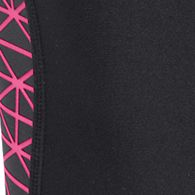 Workout Clothes for Women: Black/Pink Under Armour Women's HeatGear Armour Capri