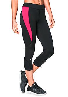 Under Armour Women's HeatGear® Armour Crop Pants