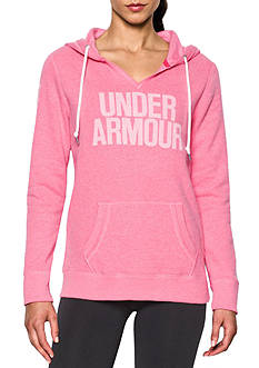 Under Armour Popover Word Mark Favorite Fleece