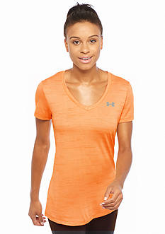 Under Armour Women's Tech Tiger V-Neck Tee