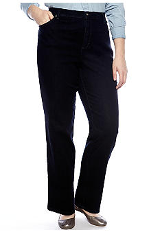 Gloria Vanderbilt Plus Size Amanda 5 Pocket Jean Average Length