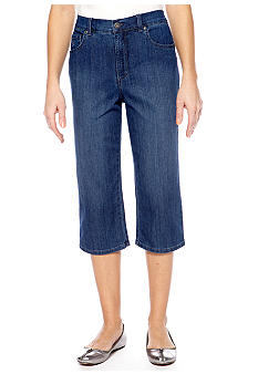Gloria Vanderbilt Amanda Capri Denim Wash