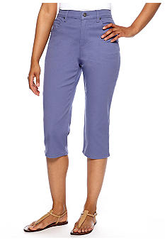 Gloria Vanderbilt Petite Amanda Classic Fit Colored Capri