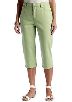 Gloria Vanderbilt Amanda Colored Capri
