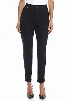 Gloria Vanderbilt Petite Amanda Slim Leg Average Jeans
