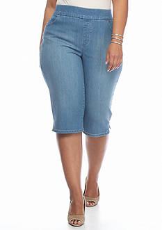 Gloria Vanderbilt Plus Size Avery Pull-On Skimmers