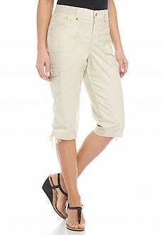 Gloria Vanderbilt Lana Cargo Skimmer Pants