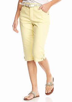 Gloria Vanderbilt Petite Lexie Belted Skimmers