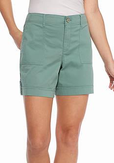 Gloria Vanderbilt Frida Cargo Shorts