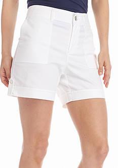 Gloria Vanderbilt Petite Frida Cargo Shorts