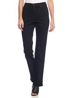 Gloria Vanderbilt Amanda Embellished Denim Wash Jeans