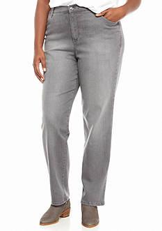 Gloria Vanderbilt Plus Size Amanda Dazzle Embellished Jeans