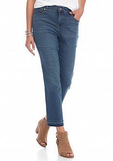 Gloria Vanderbilt Bridget Ankle Release Hem Jean