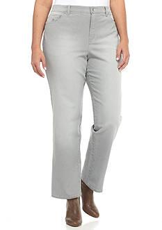 Plus Size Gray Jeans | Belk